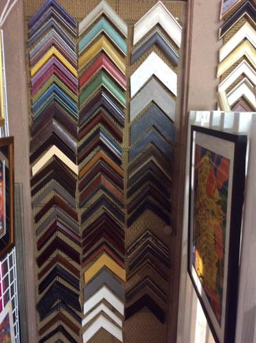 Stop by & let Michel help you pick out the perfect frame & mat for your special picture or keepsake