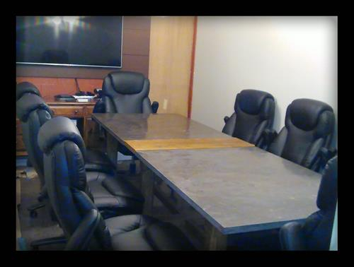 Video Conferencing Meeting Room as it comes together