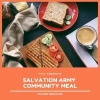 FUSE Volunteer Event: Salvation Army Community Meal