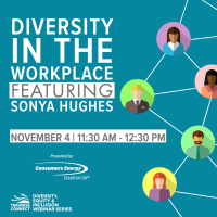 Diversity Equity & Inclusion Webinar: Diversity in the Workplace