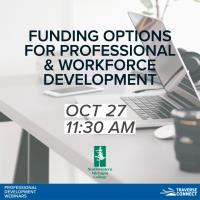 Funding Options for Professional & Workforce Development