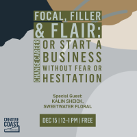 Focal, Filler & Flair: Change Career or Start a Business Without Fear or Hesitation