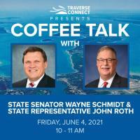 Coffee Talk with State Senator Wayne Schmidt and State Representative John Roth
