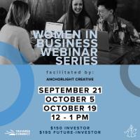 Women In Business Webinar Series