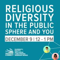Religious Diversity in the Public Sphere and You
