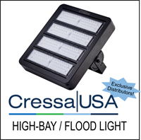 Cressa USA High Bay / Flood Light - Exclusive Distributor