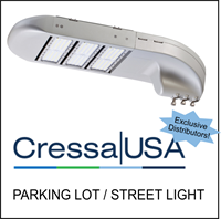 Cressa USA Parking Lot Light - Exclusive Distributor