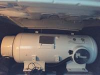 16 gallon tank in trunk of car