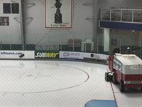 Centre Ice Dasher Board