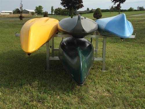 Free standing Kayak Rack