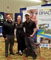 The 2016 TC Chamber Business Expo with my booth neighbors!