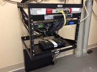 Mounted server rack