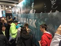 Experience the expo at the Boston Marathon: find your name on the wall!