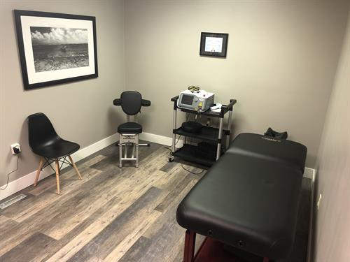 Laser Therapy Treatment Room
