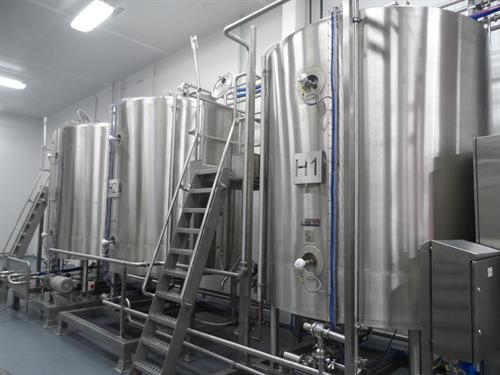 Hot fresh stock storage and distribution system