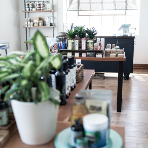 On-site Table Market exists to be an example of responsible consumerism and provide a local source for professional grade supplements, lifestyle and personal care and household items.