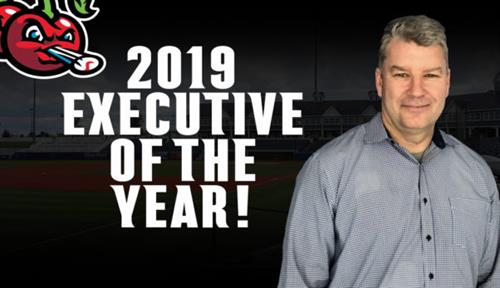 2019 Executive of the Year - Mickey Graham