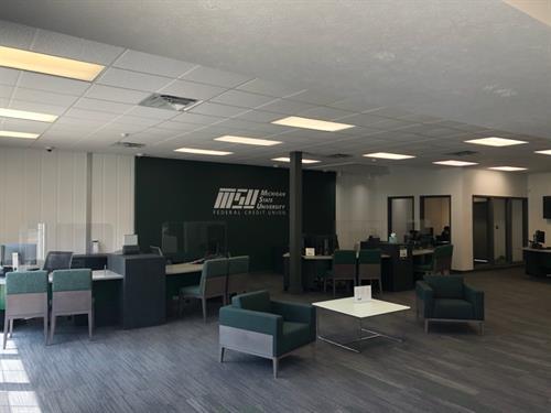 MSU FCU Union Branch - Lobby Area