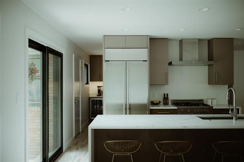 Mid Century Modern Kitchen Remodel (After Photo)