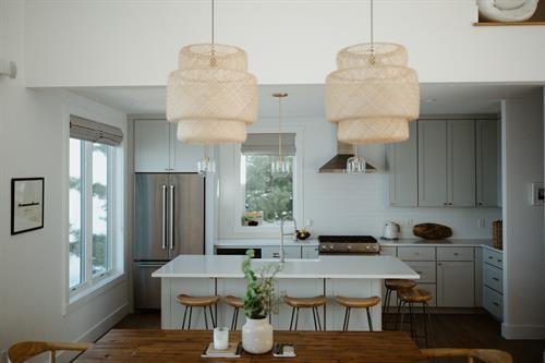 Lake Michigan Kitchen Design