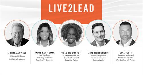 Don't miss this opportunity! Visit Live2LeadwithCMiller.com to register!