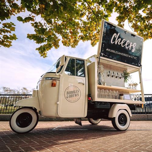 Stella - Our Vintage Piaggio Ape Imported from Italy