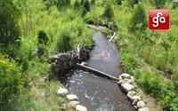 Kids Creek Restoration, Munson Campus: Civil Engineering/Survey/Testing & Construction Observation
