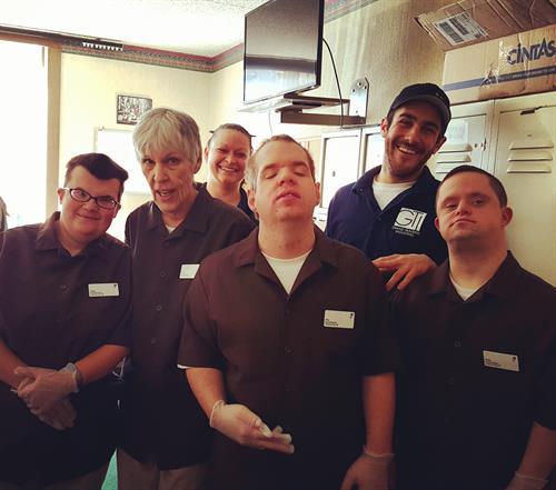 enclave crew (housekeeping)
