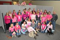 On Wednesday's we wear pink! Supporting our friends and family battling breast cancer.
