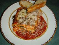 """Our Famous Lasagna - """"North's Best"""" Traverse Magazine"""