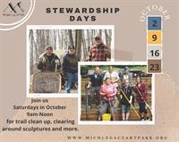 Michigan Legacy Art Park Hosts Fall Stewardship Days Call for Volunteers