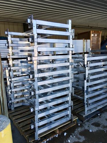 Aluminum Dock Legs
