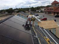 Habitat Solar Install summer of 2014