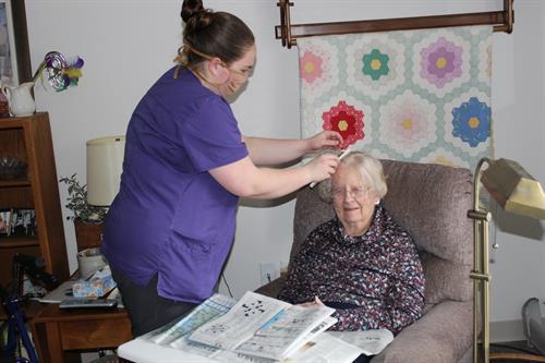 AL Resident care