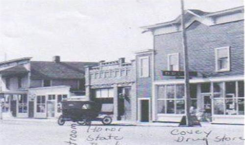 The original Honor Bank in 1917