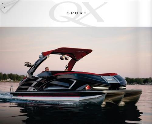 Ultimate Luxury in Pontoons by Bennington. Purchase at Long Lake Marina