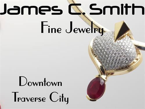 Diamond & Ruby Pendant