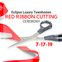 Red Ribbon Networking at Eclipse Luxury Townhomes