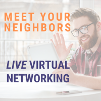 Meet Your Neighbors: Live Virtual Networking Hosted by Kitchen United Mix