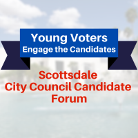 """Young Voters Engage the Candidates"" City Council Forum"