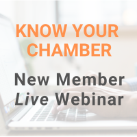 Virtual Know Your Chamber New Member Orientation