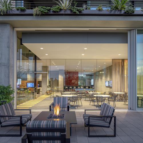 Optima Kierland Apartments | 7160 Indoor-Outdoor Party Room