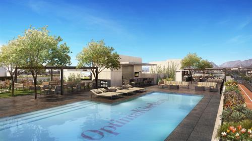Optima Kierland Apartments | 7140 Sky Deck Rendering
