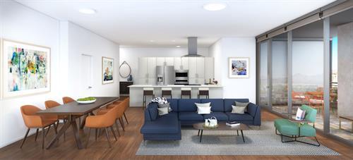 Optima Kierland Apartments | 7140 Apartment Rendering