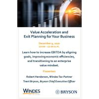 Value Acceleration and Exit Planning for Your Business