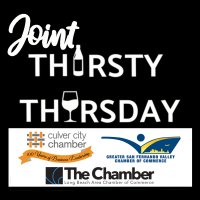 Joint Thirsty Thursday Speed Networking Event with the Culver City Chamber and Greater San Fernando Valley Chamber