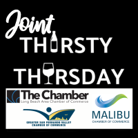 Joint Thirsty Thursday Speed Networking Event with the Malibu and Greater San Fernando Valley Chamber