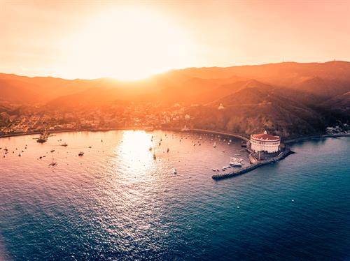 Catalina by sunset
