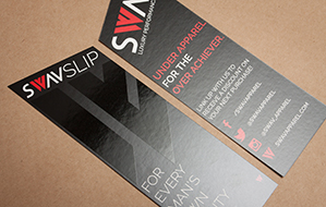 Custom Cut Product Cards