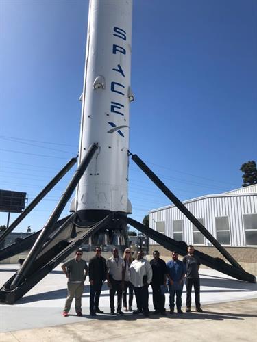 Tour of Spacex with our IEEE students